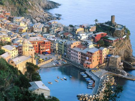 Town in the Cinque Terre